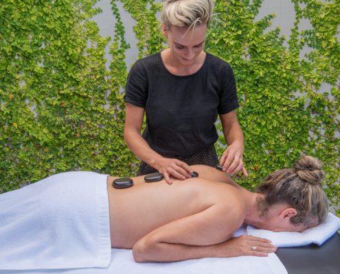 Hot Stone Massage at Woodside Bay Waiheke Island