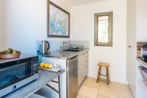 Kitchenette at Woodside Bay
