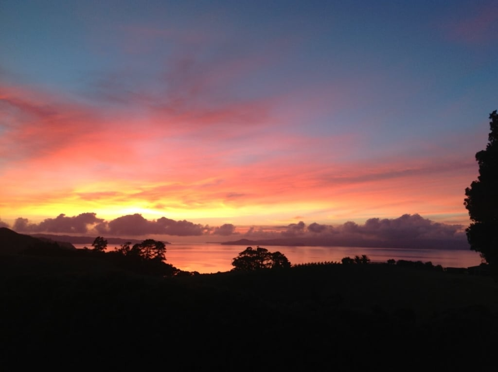 Woodside Bay Sunset