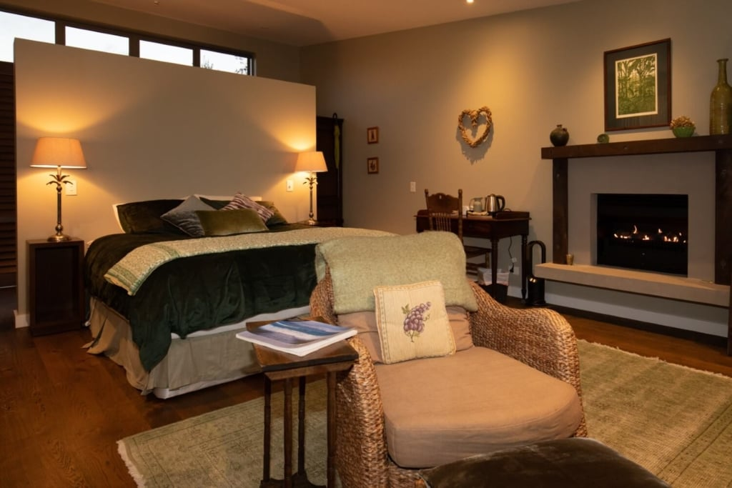 The Green Room Luxury Accommodation Waiheke Island in Winter