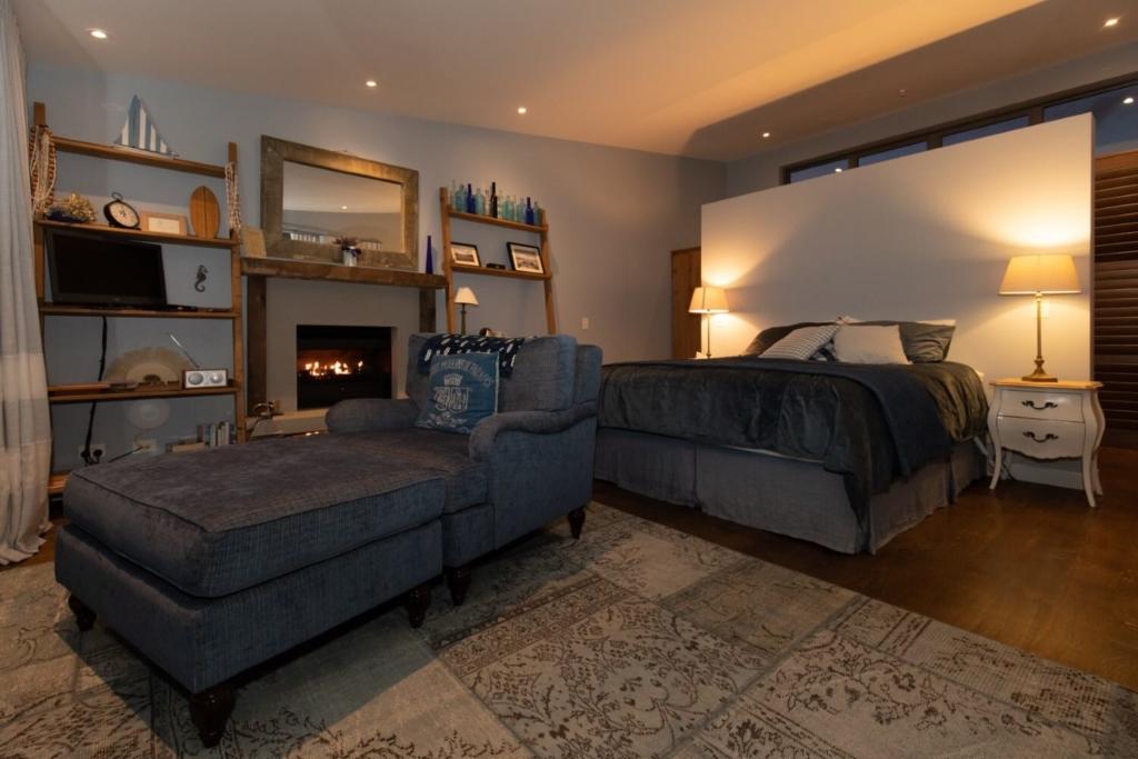 The Blue Room Luxury Accomodation Waiheke Island in Winter